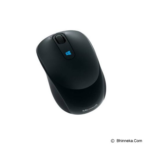 MICROSOFT Sculpt Mobile Mouse [43U-00010] - Black LL Cert - Mouse Mobile